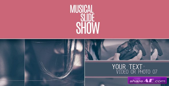 Videohive Musical Slideshow
