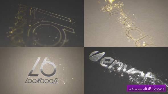 Videohive Organic Particle Logo