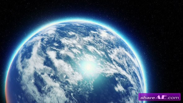 Videohive Earth Zoom 8783173 -  Motion Graphics