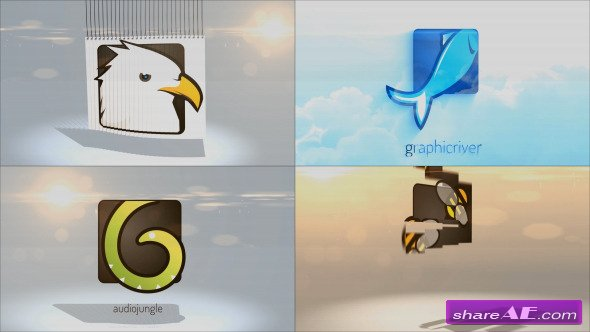 Videohive Simple Logo Reveal Pack - After Effects Templates