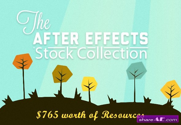 The After Effects Templates - Stock Footage Collection + Bonus (InkyDeals)