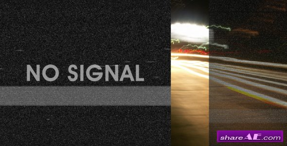 Videohive Bad tv signal pack -  Motion Graphics