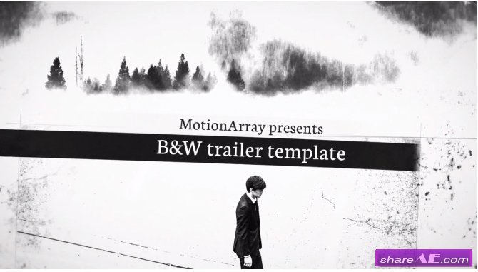 B&W Trailer - After Effects Templates (Motion Array)