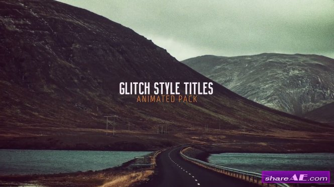 Glitch Titles - After Effects Templates (Motion Array)