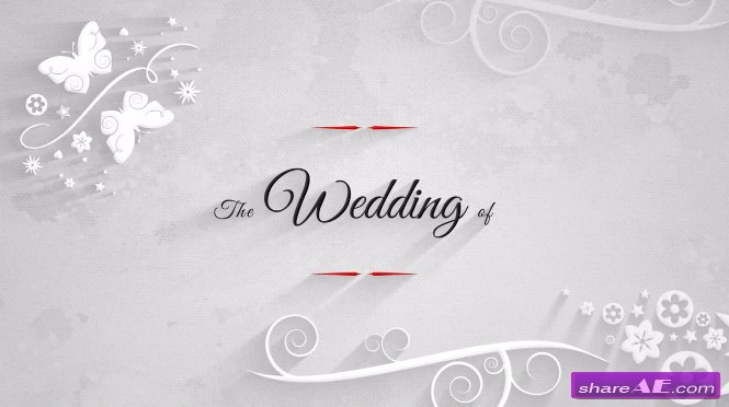 Traditional Wedding Pack After Effects Templates Motion Array