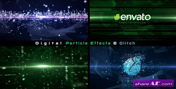 Videohive Plexus Data Stream - After Effects Templates