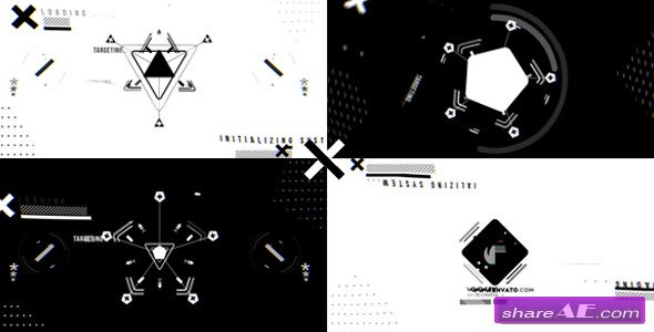 Videohive The X Logo Reveal - After Effects Templates