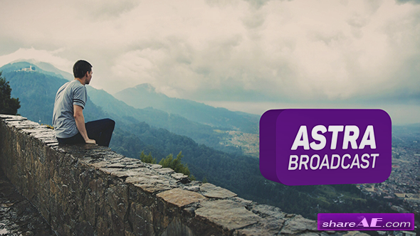 Videohive Astra Broadcast - After Effects Templates