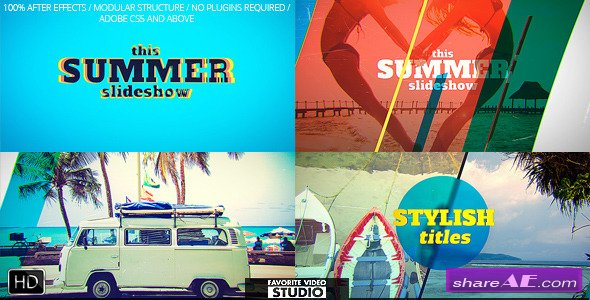 Videohive Favorite Summer Slideshow