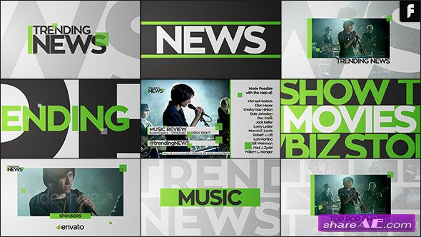 Videohive Dynamic Show Package