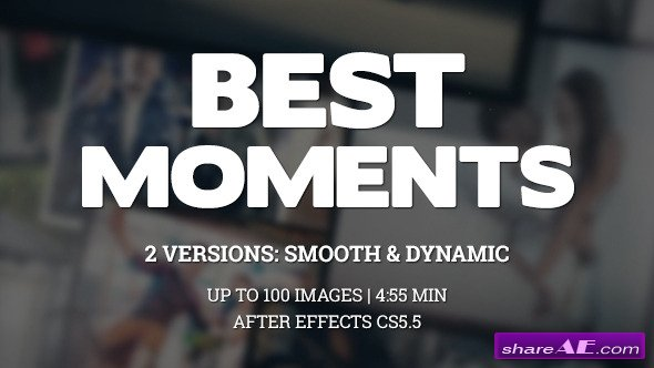 Videohive Best Moments Gallery