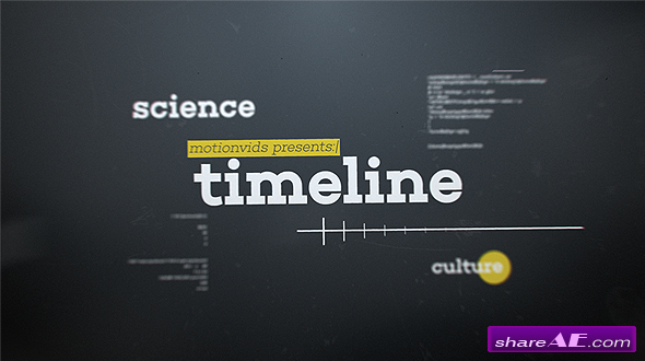 Videohive Abstract D Timeline Free After Effects Templates - After effects timeline template