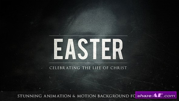 Videohive Easter Worship Package
