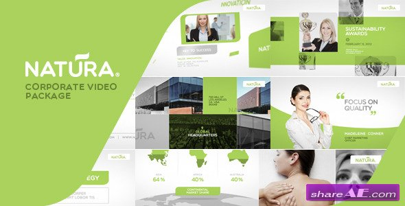 Videohive Natura - Corporate Video Package