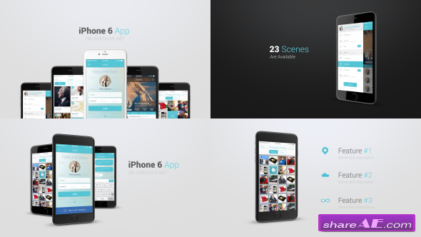 Videohive Iphone 6 App Presentation Kit