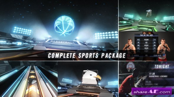 Videohive Action Zone - Complete Sports Broadcast Package