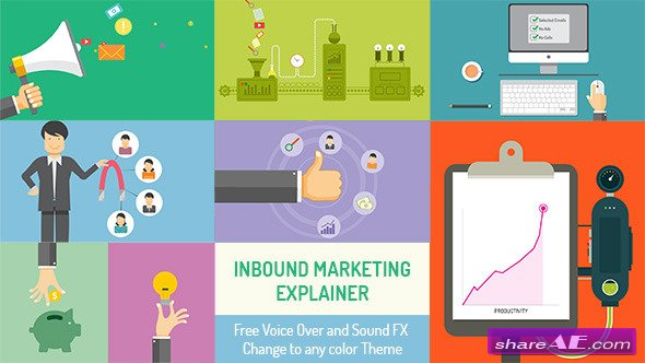 Videohive Inbound Marketing Explainer