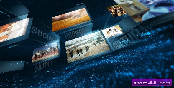 Videohive News Package 11392588 - After Effects Templates