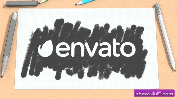 Videohive Cartoon Sketch Logo Reveal - After Effects Templates ...