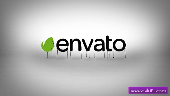 Videohive Cartoon Jogging Animation Intro