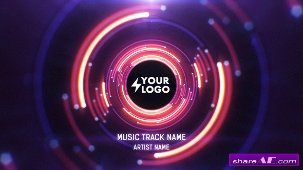 Videohive Audio React Tunnel Music Visualizer