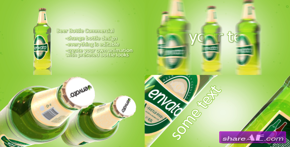 Videohive Beer Bottle Commercial