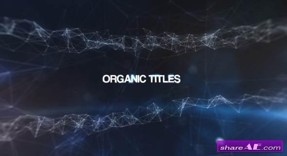 Videohive Organic Titles