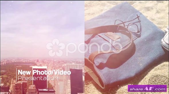 Modern Slideshow - Slip And Slide - After Effects Templates (Pond5)