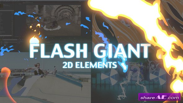 Professional 2D FX Elements - Videohive » free after effects