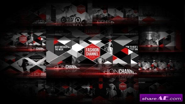 Videohive Fashion Broadcast Package - After Effects Templates