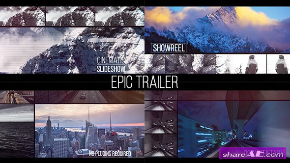 Videohive Epic Trailer - After Effects Templates