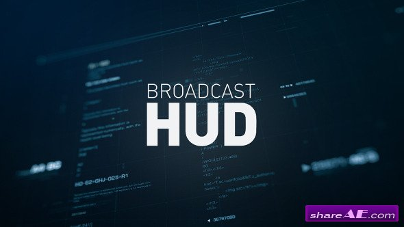 Videohive Broadcast HUD - After Effects Templates