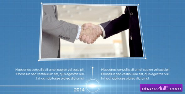 Videohive Elegant Corporate Timeline - After Effects Templates