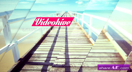 Videohive Clean Glass Slideshow - After Effects Templates