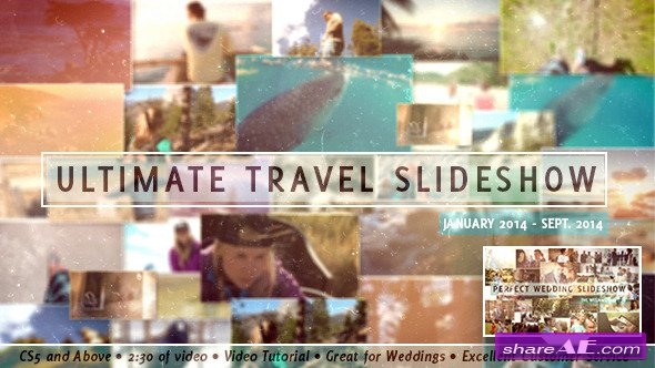 Videohive Ultimate Travel Slideshow - After Effects Templates