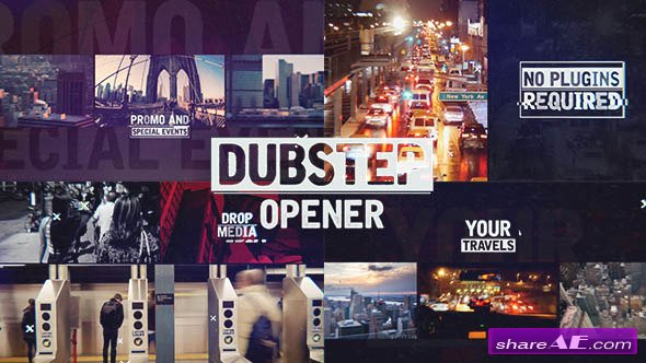 Videohive Dubstep Urban Opener - After Effects Templates