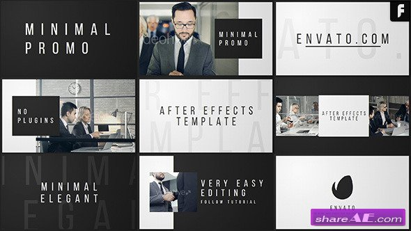 Videohive Minimal Promo After Effects Templates