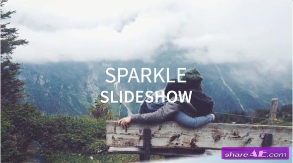 Sparkle Slideshow - After Effects Templates (Motion Array)