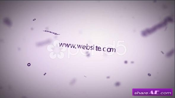 Random Text Titles Business Logo Type Animation Intro - After ...