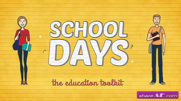 Videohive School Days Toolkit - After Effects Templates