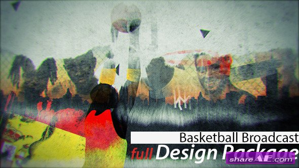 Videohive Basketball Broadcast Design - After Effects Templates
