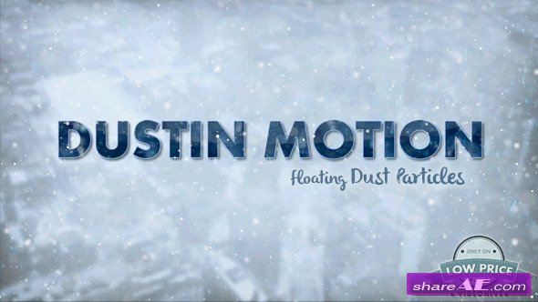 Videohive Dust in Motion - Organic Particles - Motion Graphic