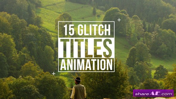 Videohive Glitch Titles - After Effects Templates