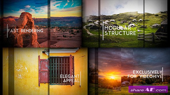 Videohive Sliding Slides - After Effects Templates