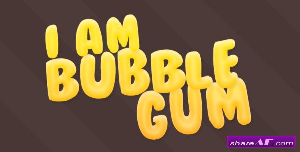 Videohive Bubble Gum - After Effects Templates
