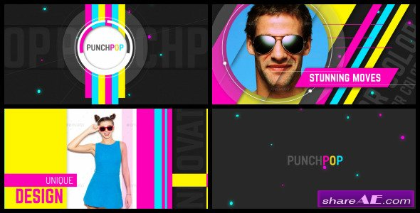 Videohive Punch Pop - After Effects Templates
