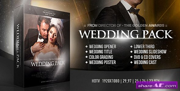 Videohive Wedding Pack Two
