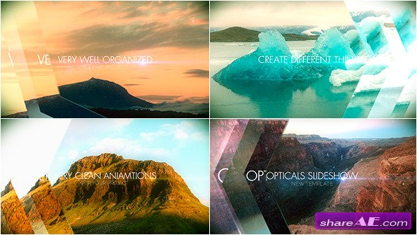 Optical Slideshow - After Effects Templates (Videohive)