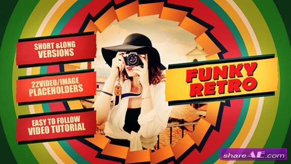 Funky Retro - After Effects Templates (Videohive)