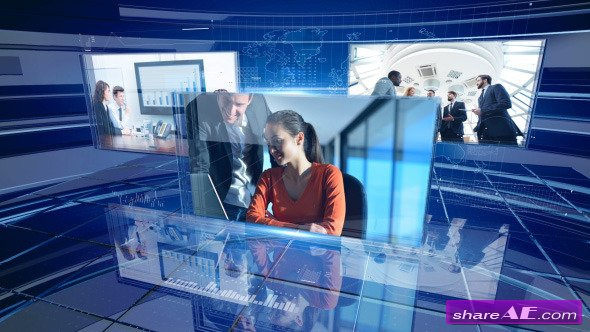 Corporate Displays - After Effects Templates (Videohive)